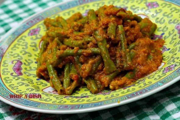 Long Beans in Spicy Gravy